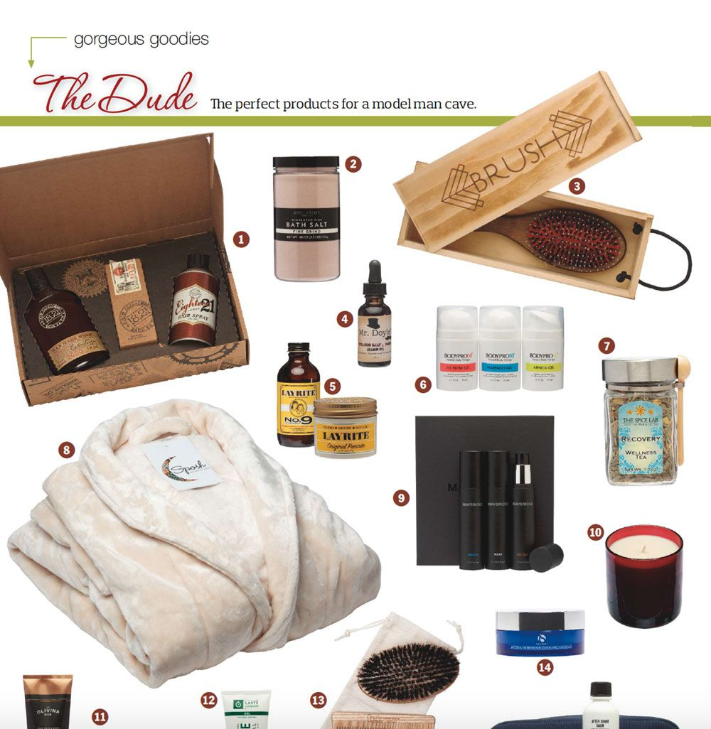 Bodypro50 seen in DaySpa Magazine's Gorgeous goodies guide for men